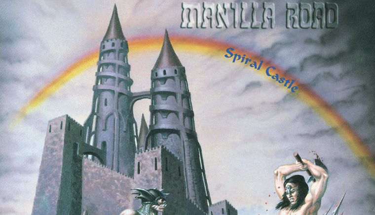 MANILLA ROAD - Spiral Castle (Re-Release) via High Roller Records