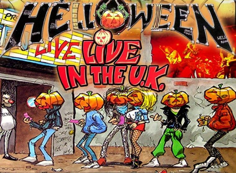 HELLOWEEN – LIVE IN THE U.K. CLASSIC T-SHIRT RELEASED